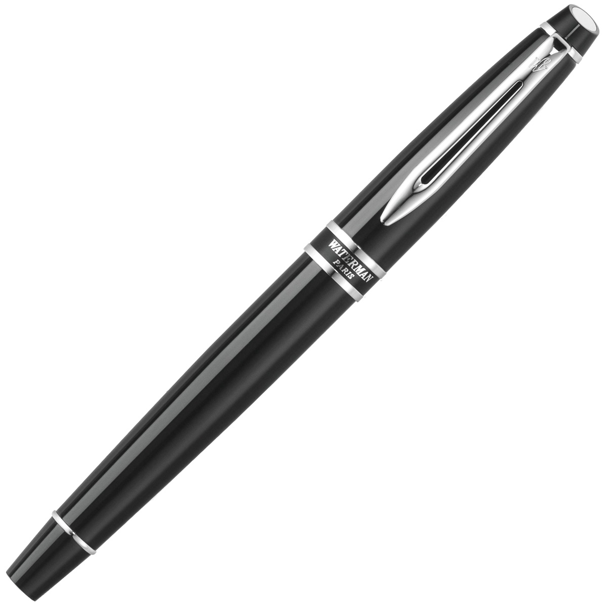 Ручка-роллер Waterman Expert 2, Black Laque CT, фото 2
