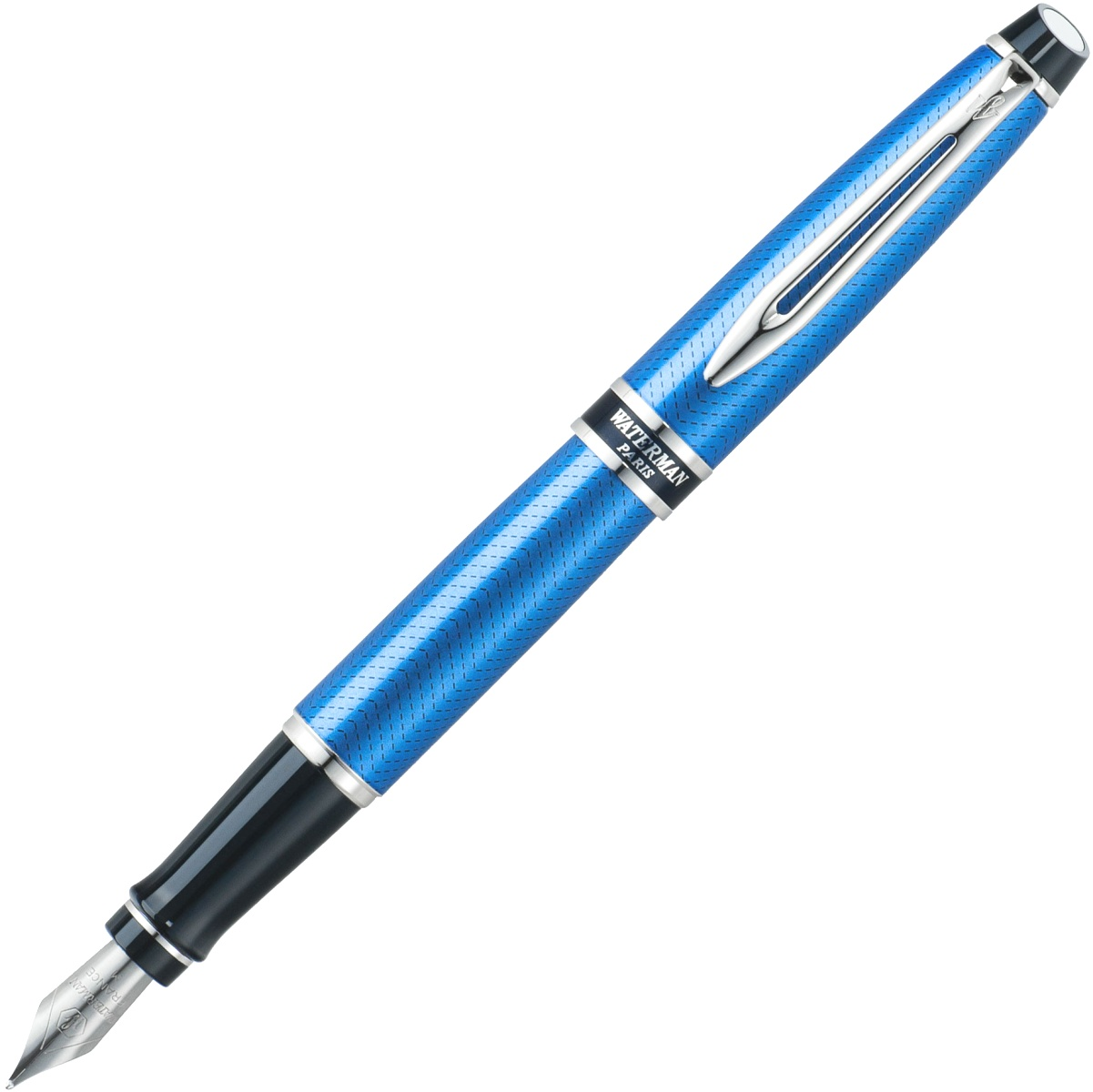 Перьевая ручка Waterman Expert 2 City Line, Urban Blue (Перо M)