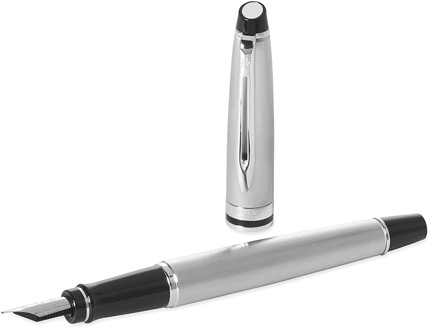 Ручка перьевая Waterman Expert 3 Essential, Stainless Steel CT (Перо F), фото 3