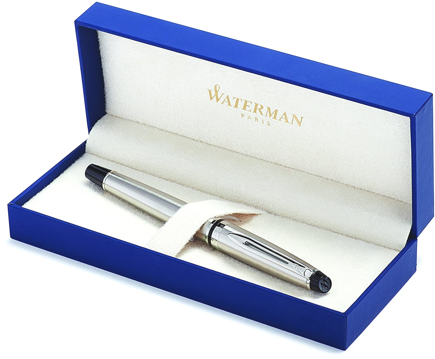 Ручка перьевая Waterman Expert 3 Essential, Stainless Steel CT (Перо F), фото 5