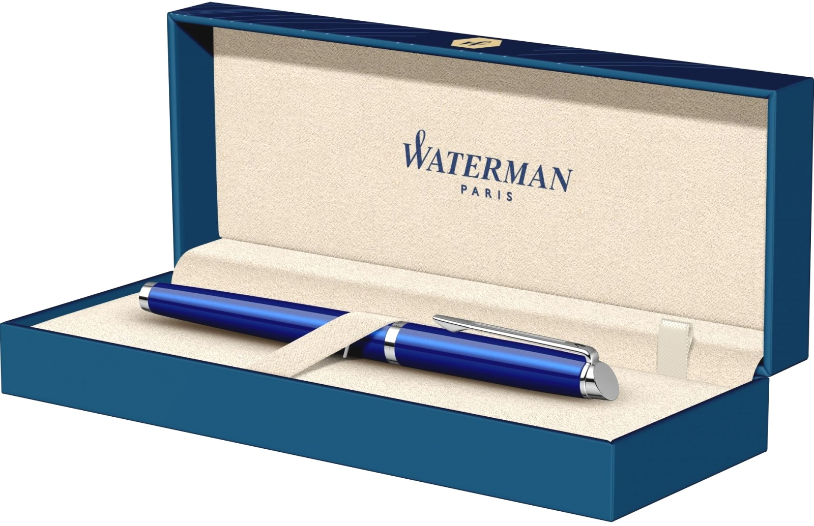Ручка перьевая Waterman Hemisphere 2018, Bright Blue CT (Перо F), фото 8