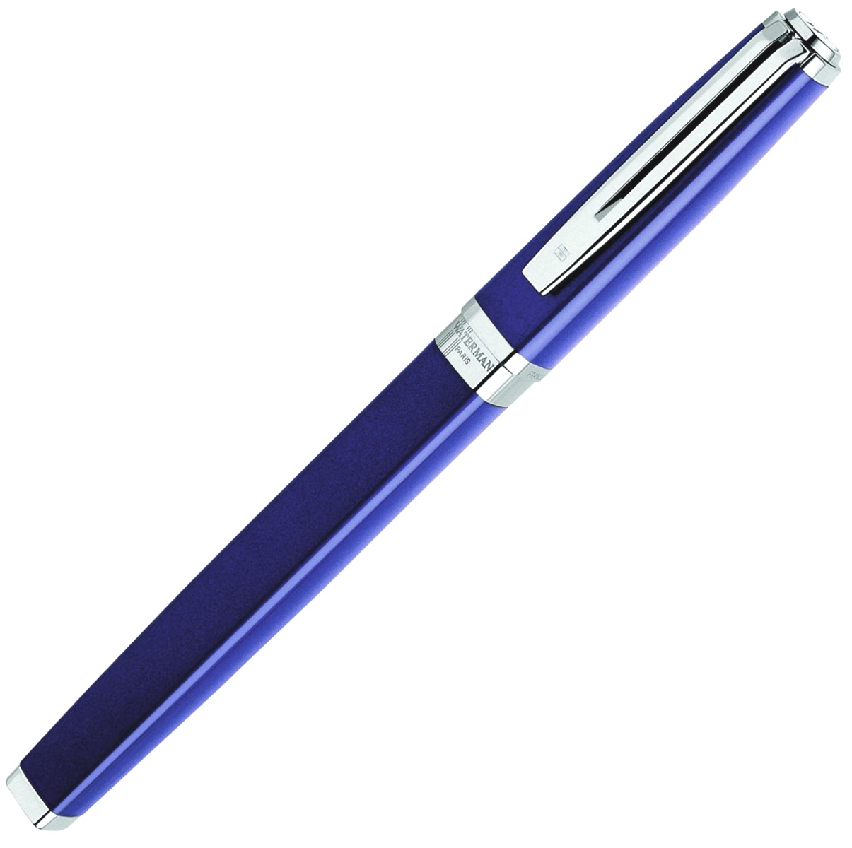 Ручка-роллер Waterman Exception Slim, Blue Lacquer ST, фото 2
