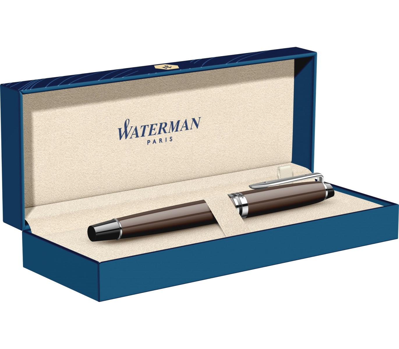 Ручка-роллер Waterman Expert 3 Essential, Deep Brown CT, фото 4