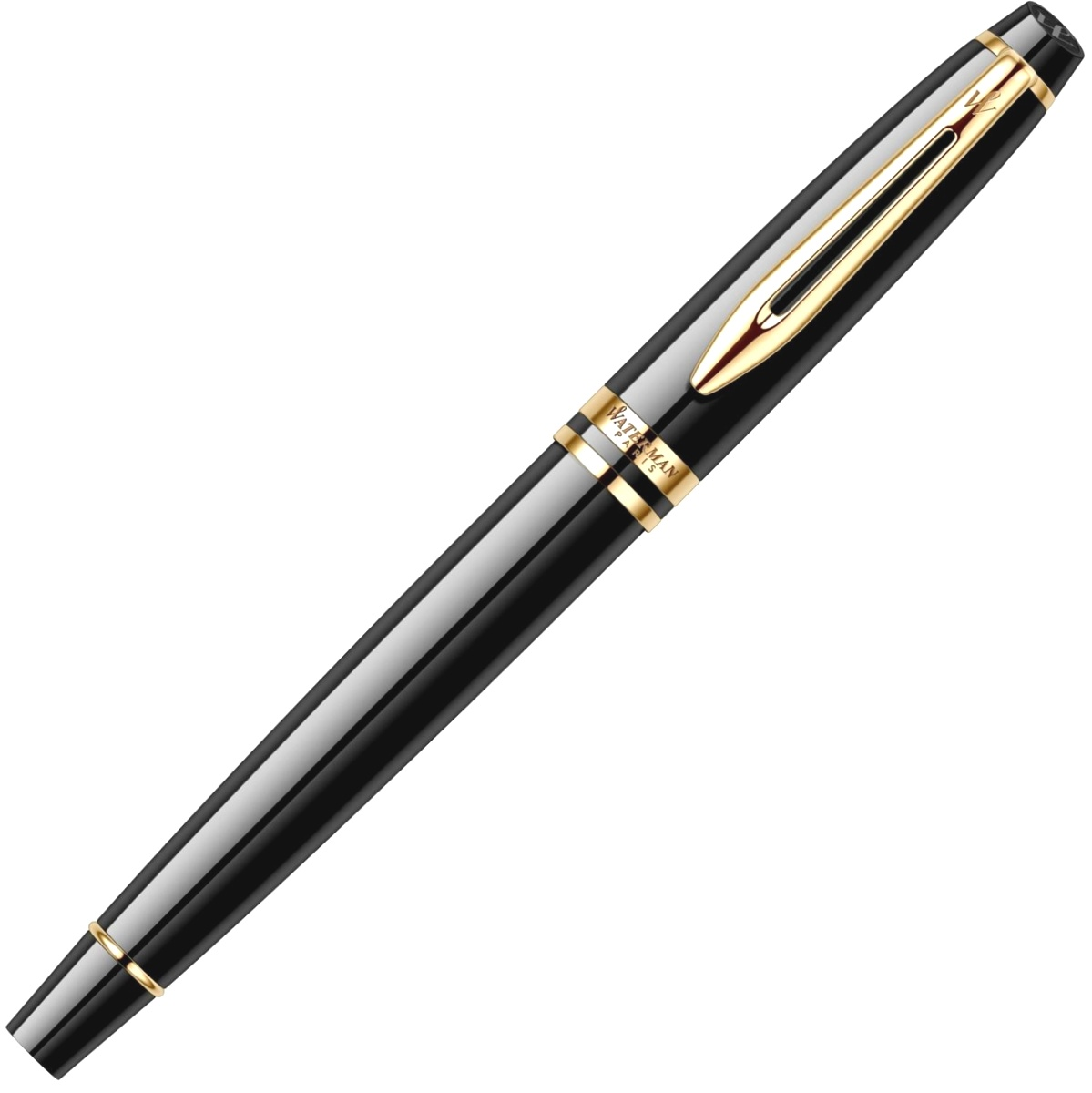 Ручка-роллер Waterman Expert 3 Essential, Laque Black GT, фото 4