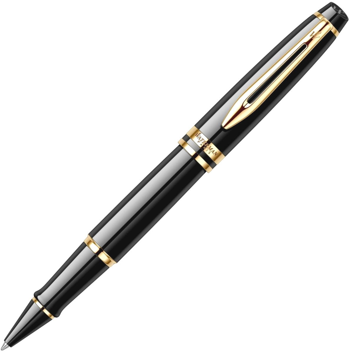 Ручка-роллер Waterman Expert 3 Essential, Laque Black GT