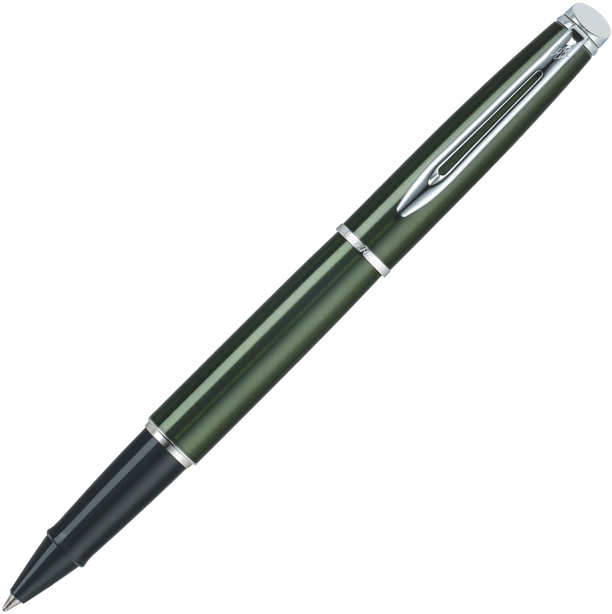 Ручка-роллер Waterman Hemisphere, Metallic Green CT