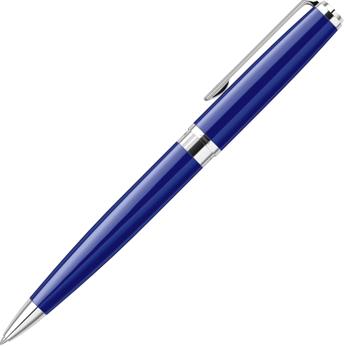 Шариковая ручка Waterman Exception Slim, Blue Lacquer ST, фото 3