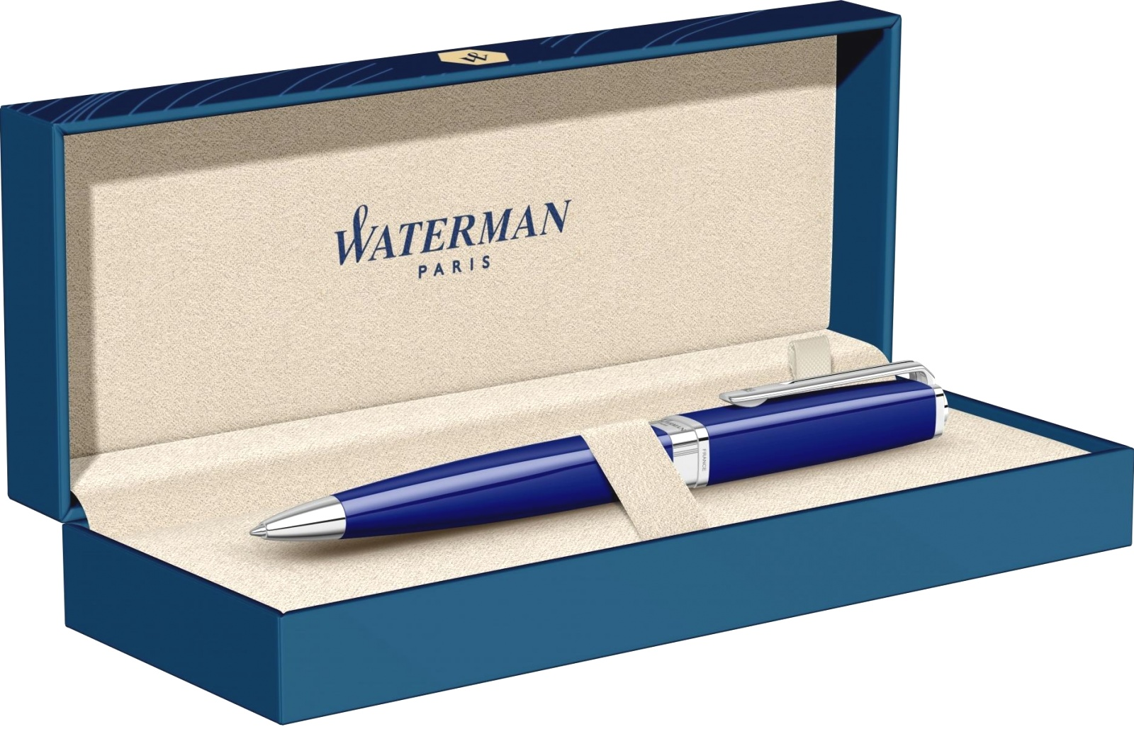 Шариковая ручка Waterman Exception Slim, Blue Lacquer ST, фото 6