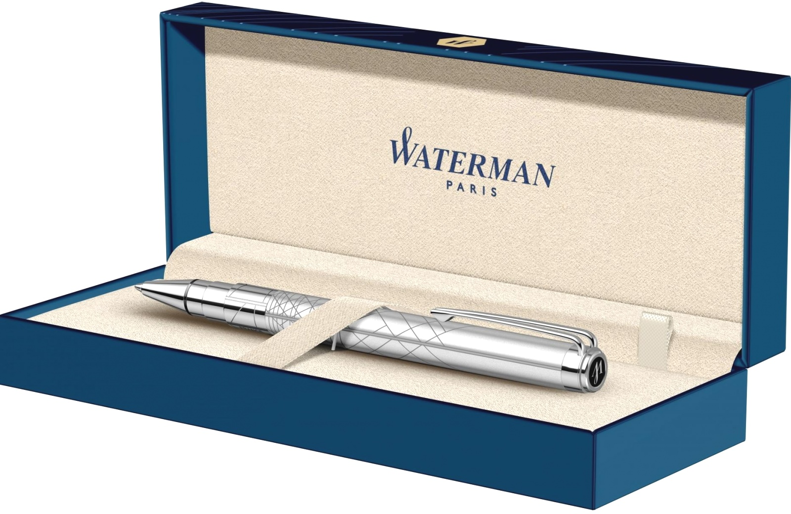 Шариковая ручка Waterman Perspective, Silver CT, фото 4