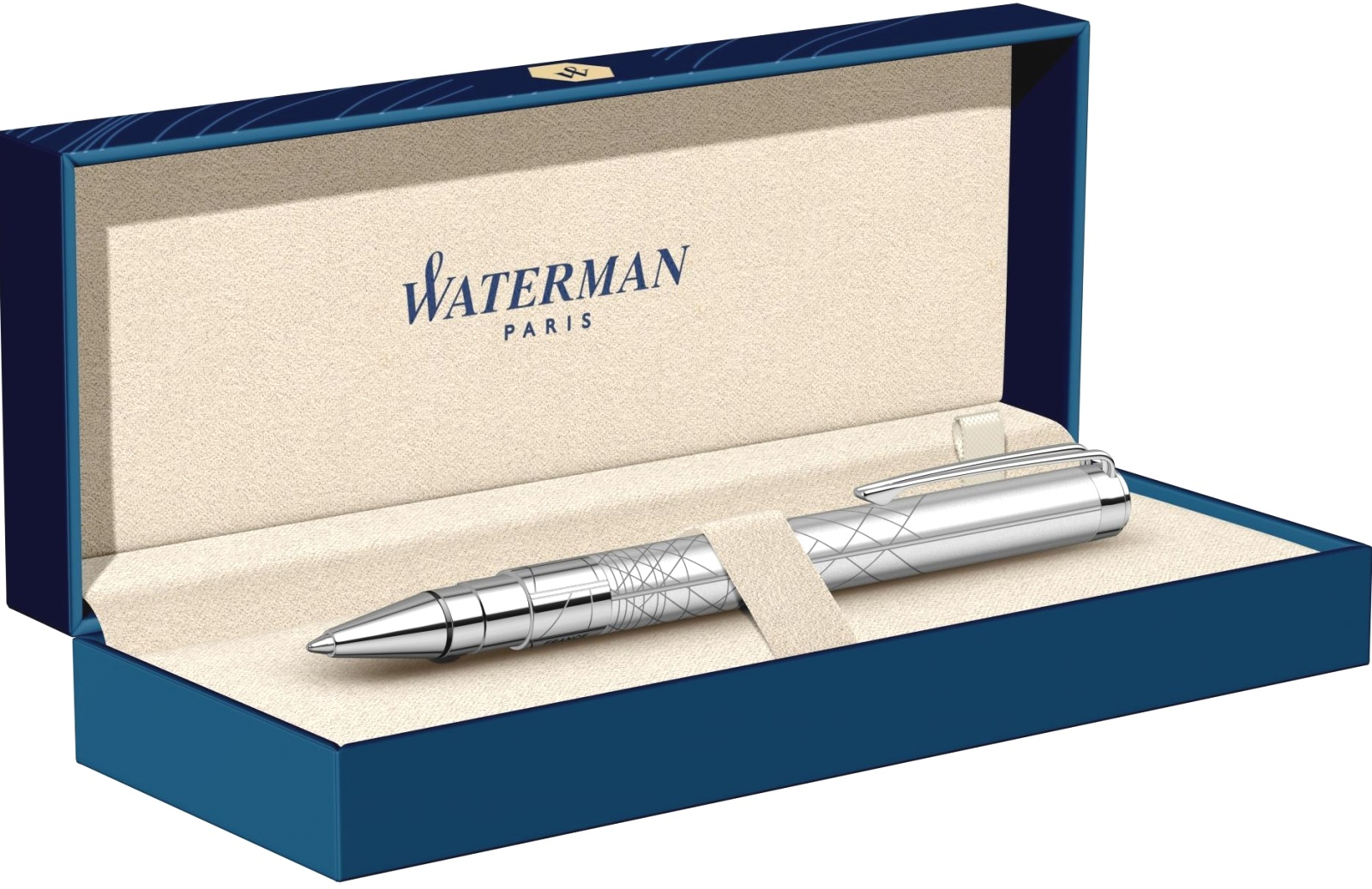 Шариковая ручка Waterman Perspective, Silver CT, фото 5